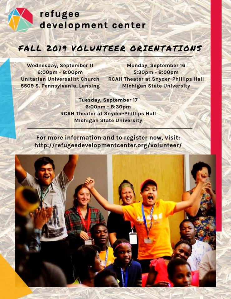 Volunteer for the Refugee Development Center