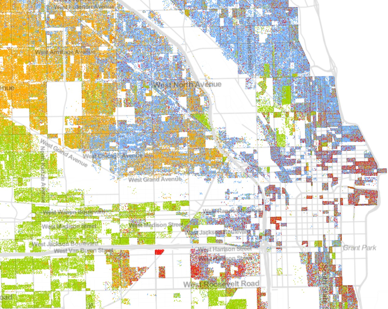 Chicago demographic data