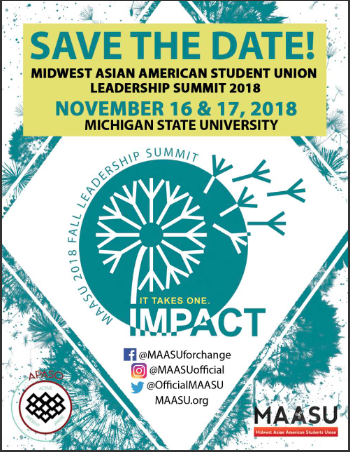 Event: Midwest Asian American Student Union Leadership Summit 2018