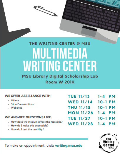 The Multimedia Writing Center