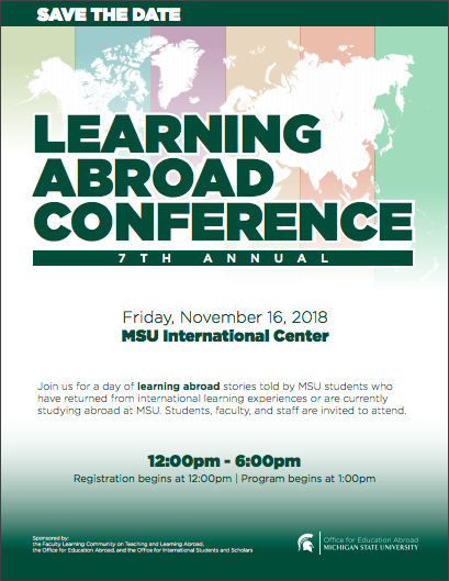 Event: Learning Abroad Conference