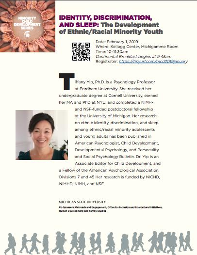 Event: Minority Child Development Series