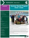 Summer Sports Down Under