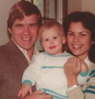In memory: Dan and Deb Gould with their daughter Kristen in 1985.