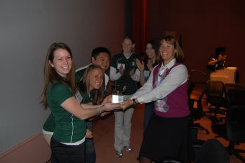 Kinesiology students win regional ACSM competition