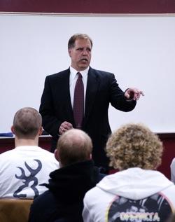 MSU alumnus Pscodna named head football coach for Alma College