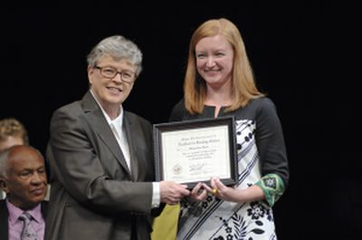 Graduate assistant receives MSU citation for excellence in teaching