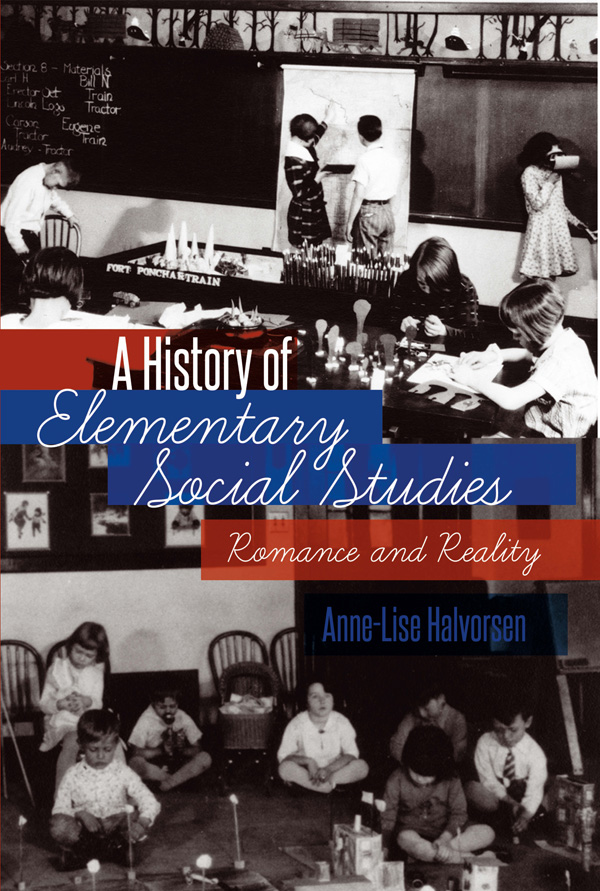 New book delves into history, issues of elementary social studies