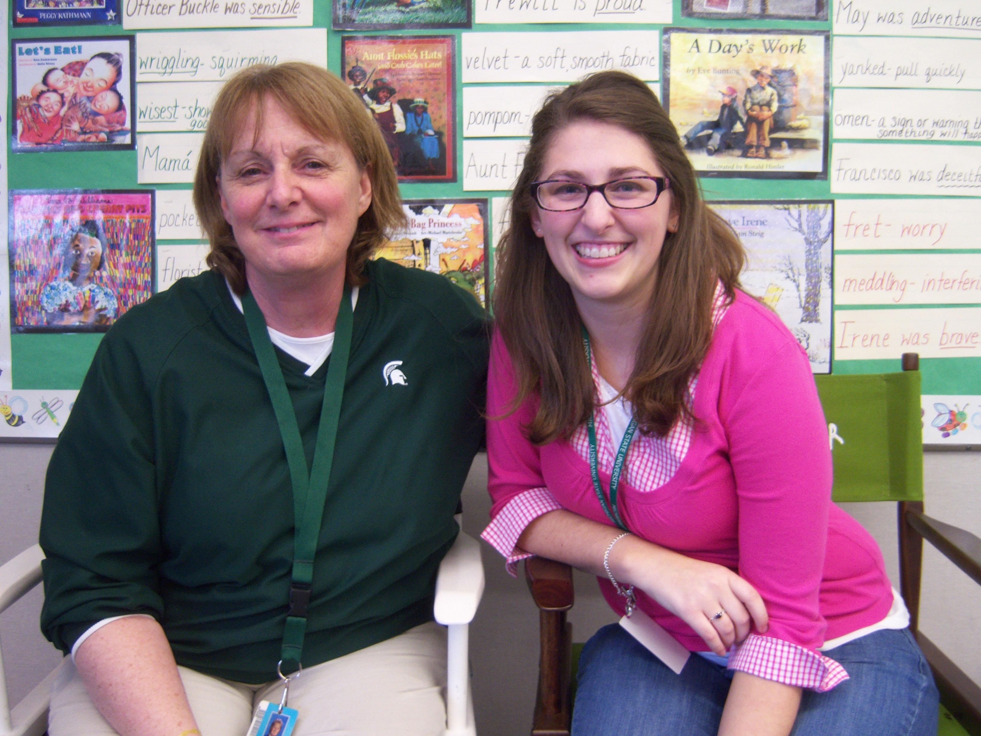 Teaching intern named best in Michigan