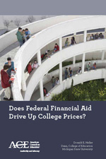 Little proof that federal aid raises college prices