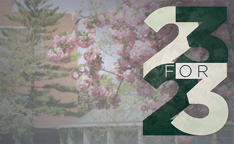 Give 23 for 23: Alumni board student scholarships