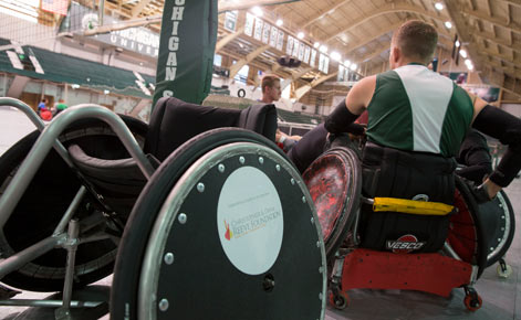 Adapted sports: MSU adds wheelchair rugby to award-winning club