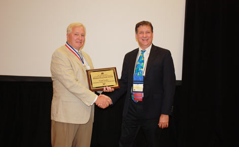 Alumnus celebrated for contributions to driver, traffic safety education