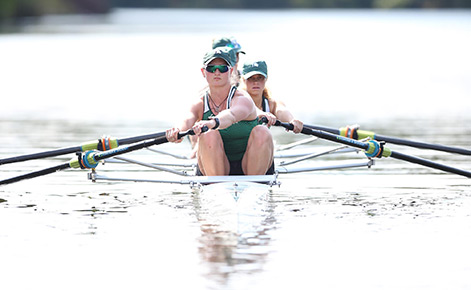 Music education student youngest to earn top award from USRowing