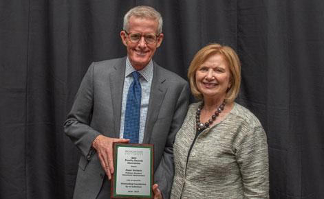 Baldwin receives Faculty Emeritus honor