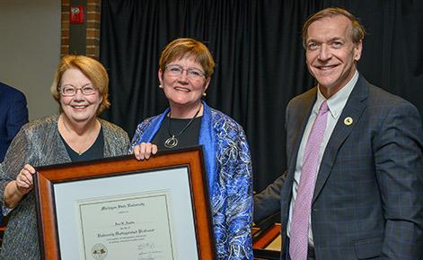 Austin named University Distinguished Professor