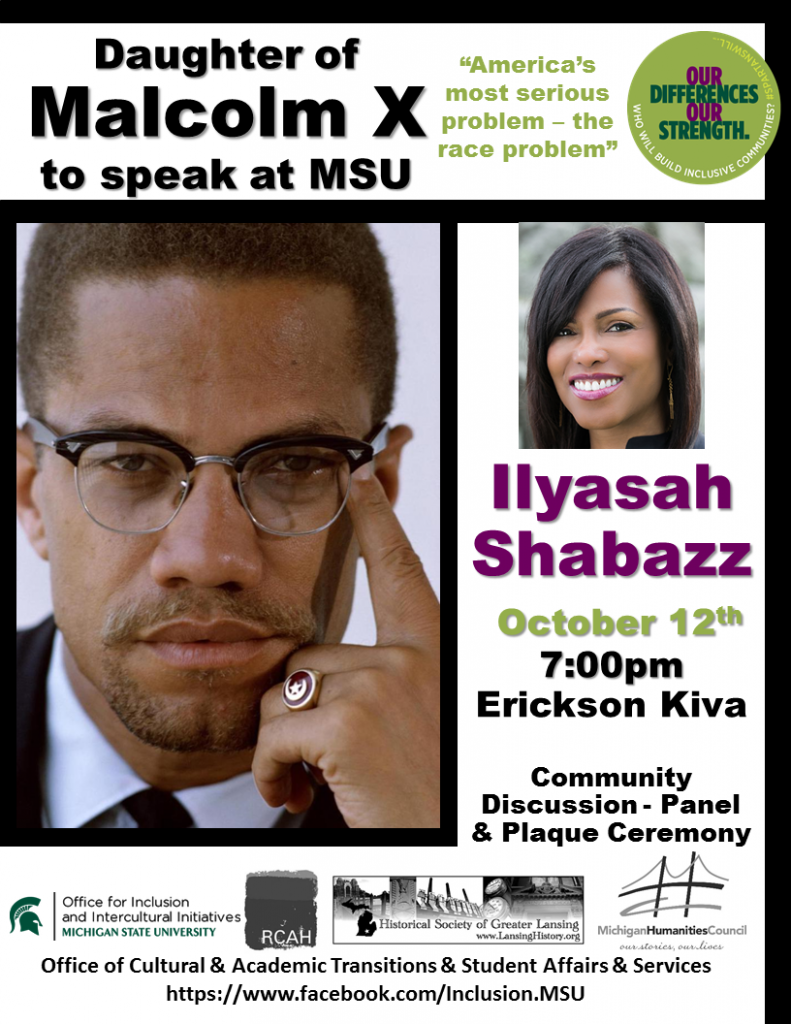 "Ilyasah Shabazz: ""America's Most Serious Problem"""