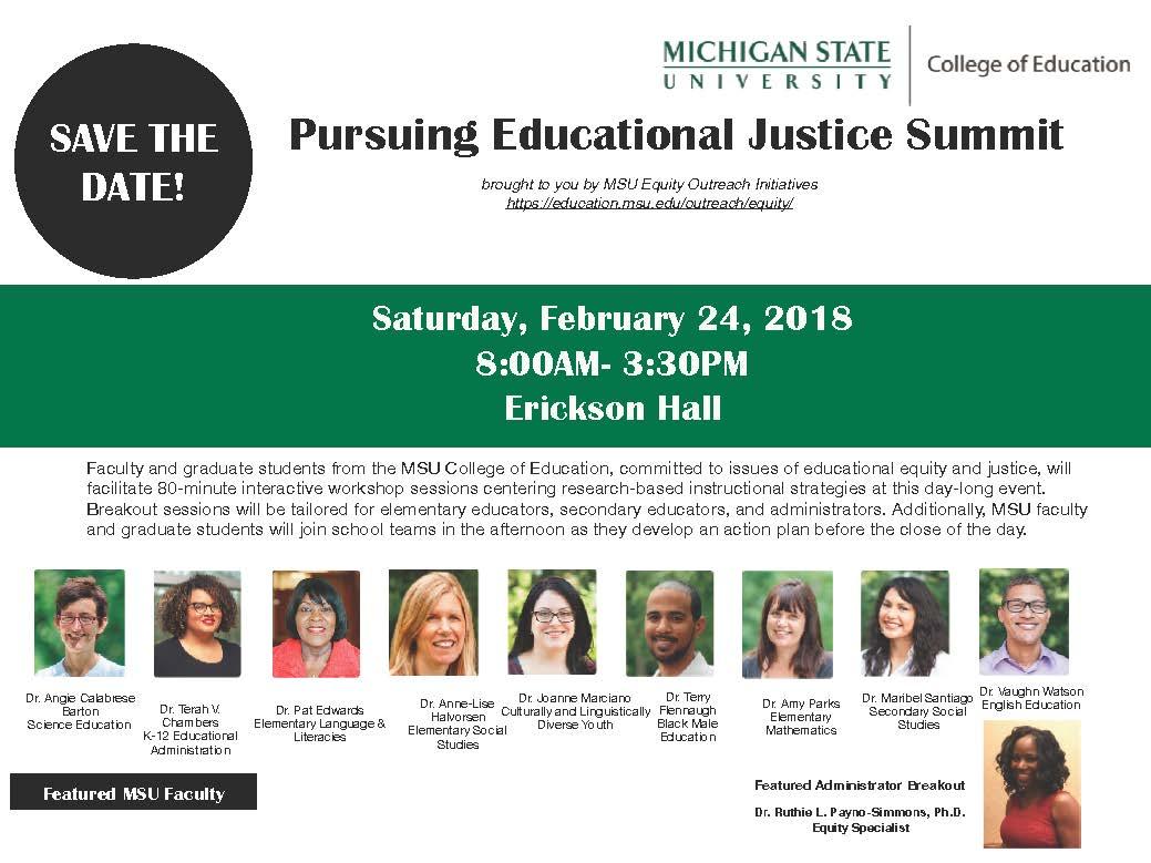 Pursuing Educational Justice Summit