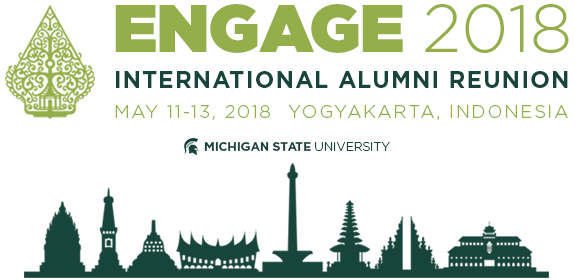 Promo image of Engage 2018, Indonesia skyline
