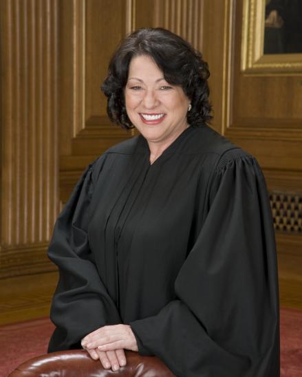 Justice Sonia Sotomayor Headshot