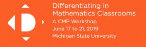 Differentiating in Mathematics Classrooms header