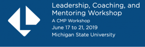 Leading, Coaching and Mentoring Workshop header