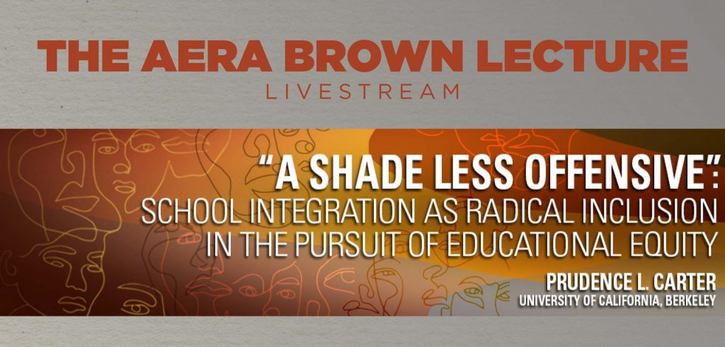 AERA Brown Lecture