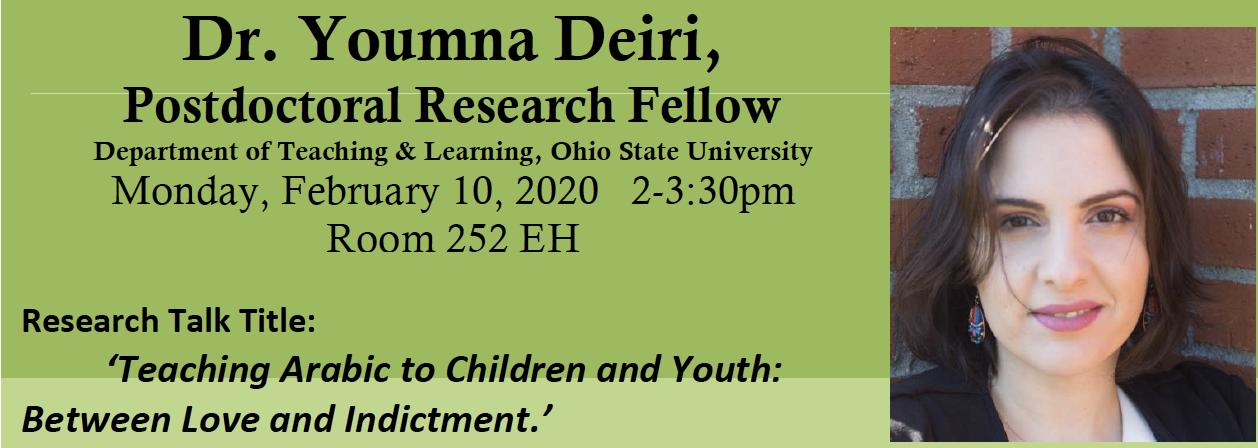 Dr. Youmna Deiri