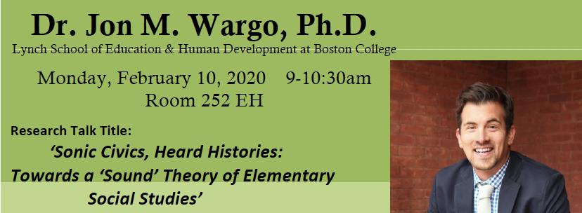 Dr. Jon Wargo