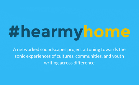 Studying literacies and community through #hearmyhome